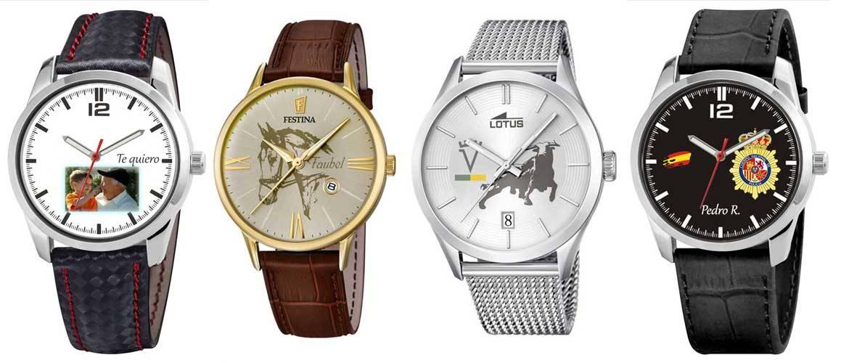 Relojes personalizados para todos los gustos maestra online - Relojes de pared personalizados ...